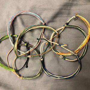 PACK OF 7 Pura Vida Bracelets